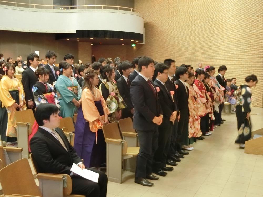 H30新潟生命歯学部107回卒業式01