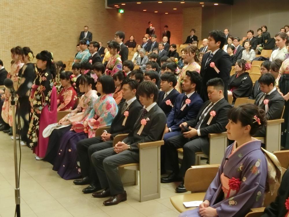 H30新潟生命歯学部107回卒業式02